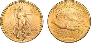 $20 Saint Gaudens Gold Coin