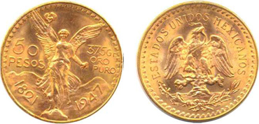 Mexican Peso Gold Coin