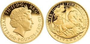 British-Gold-Britannia